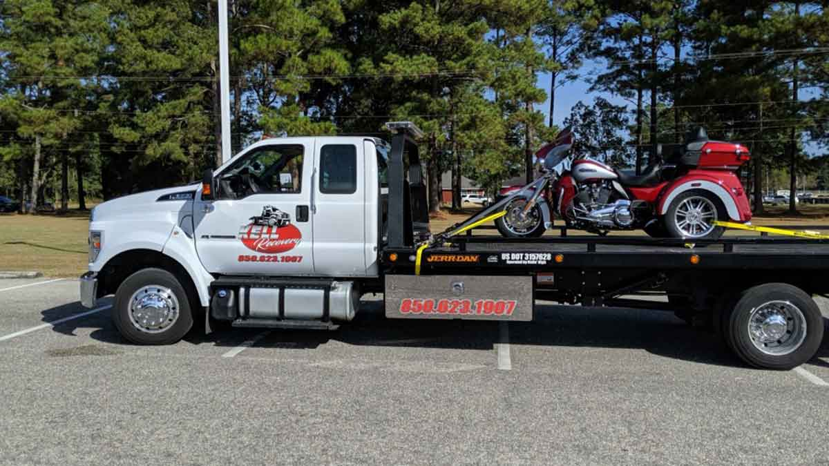 Motorcycle Towing Milton